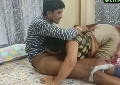 Indian Aunty and young guy 720p