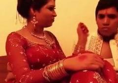 Shy Indian bride – wedding night sex