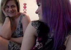 Dense Milfs Share Bushwa - Sabrina Violet together with Clover Baltimore - Family Mend - Alex Adams