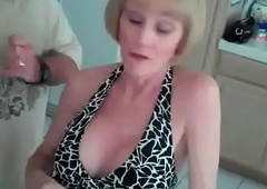 All Granny Wishes Is A Nasty Threesome!
