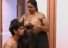 Indian Aunty romance with Juvenile schoolboy