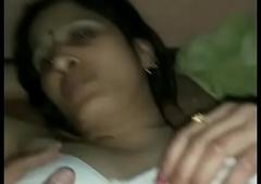 Desi mummy changeless fucked by client   telegram - @nancybhabi
