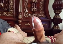 Perfect Penis Oil Rub down by Beautiful Wife