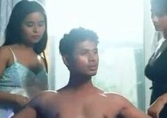 Indian web series threesome