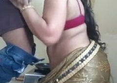 Bhabhi fucked while cooking in kitchen