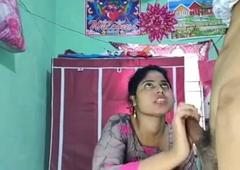 My Hindu aunty blows my circumcised penis