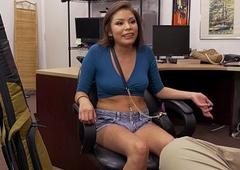 Navajo Girl Samantha Parker Tries to Pawn Will not hear of Boyfriend'_s Gun (xp15506)