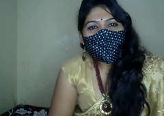 Sexy Bhabhi Enjoys Masturbation with Dildo
