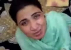 Pakistani Aunty sucks and fucks young guy