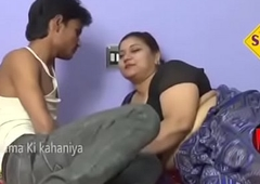 Aunty with boy sex romance video