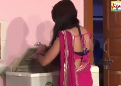 Hot Bhabhi and Dewar have Romance In Larder While Husband Is Not Home
