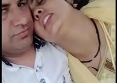 Indian Homemade Sex Punjabi Bhabhi Romance In Car