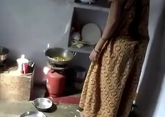 Indian Brother's Wife Fucked In Kitechen