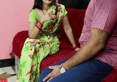 priya ne jhadu se pitayi ki pati ki uske bad bhanje se chudi