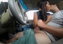 Girlfriend sucking