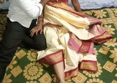 Desi Telugu wife has idealist coitus