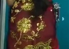 Bangladeshi bangla hot sexy legal age teenager girl cam show , boobs show
