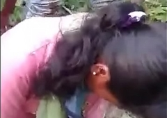 indian girlfriend fucked by bf and his friend in jungle