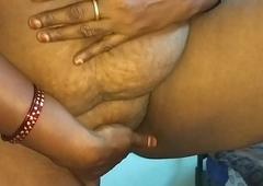 desi indian tamil telugu kannada malayalam hindi horny cheating spliced vanitha crippling blue colour saree showing big boobs and shaved pussy press eternal boobs press nip rubbing pussy masturbation