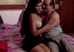 Indian aged man lovemaking romance with teen sexi girl