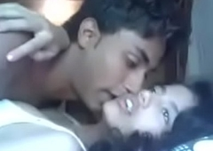 Indian Mumbai beauty college teen fucking connected with her cousin