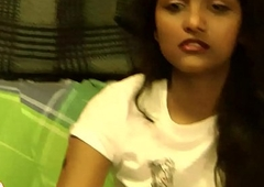 Indian Establishing Teen Divya Striptease Show