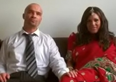 desi indian is pounded fast by husband