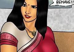 Savita Bhabhi Episode 78 - Pizza Supervision &ndash_ Extra Sausage !!!