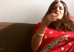 Sexy bhabhi ki gand added to black dark pussy having it away hard