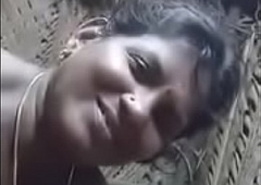 Tamil Townsperson Aunty sucking cock