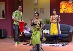 Mallu Serial Actress  Chandana Mazha Actress Megna Hot Dance