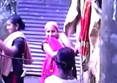 South Indian Mallu Taking Bath Outside Sheet part-6