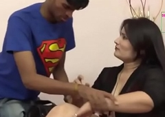 desimasala.co - Young boy giving knead nearly neighbor aunty