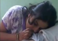Desi wife engulfing cock