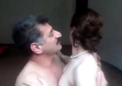Arab aunty sucked n fucked off out of one's mind spouse wid uproarious whimpering