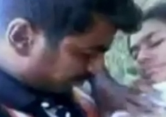 Indian Beautifull Girl Fucking with respect to Jungle with Show one's age Coitus Video