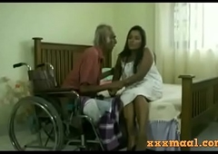 xxxmaal.com -Thisaravige Rathriya Hot chapter fro Old alms-man