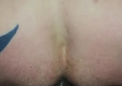 Mint tattooed white guy gets my undiminished indian bbc sans a condom