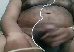 desi indian individuals masturbation more than webcam all round satisfy aunty