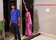 indian beautiful school tempting to their way student for romance.......telugu hot shortfilm