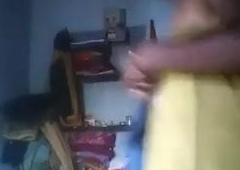 Salem hot tamil aunty equally her nude body to her tighten one's belt