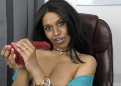 Slutty Indian secretary roleplay pov encircling Tamil