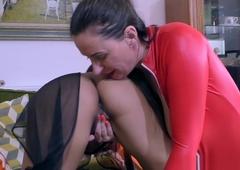 Nylons lesbian licking british indians vagina