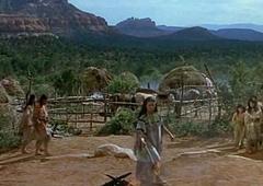 Debra paget glimmer arrow (1950)