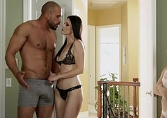Teen garden plot the brush foster dad's penis with the brush step mama - india summer & alice march